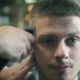 Female Barber's Hands with Electric Trimmer Are Cutting Male's Hair in Barber Shop - VideoHive Item for Sale