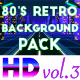 80's Retro Futuristic Background Pack vol.3 - VideoHive Item for Sale