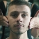 Woman Barber Softly Applies Hair Gel on Young Man's Beard and Hair After Haircut in Barbershop - VideoHive Item for Sale
