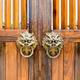 traditional wooden door and knocker - PhotoDune Item for Sale