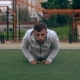 Man Is Doing Push-ups - VideoHive Item for Sale