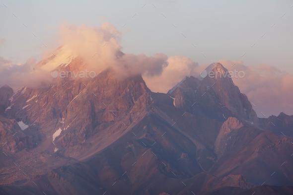 Fann mountains - Stock Photo - Images