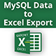 MySQL Data to Excel Export - CodeCanyon Item for Sale