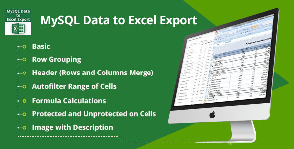 MySQL Data to Excel Export