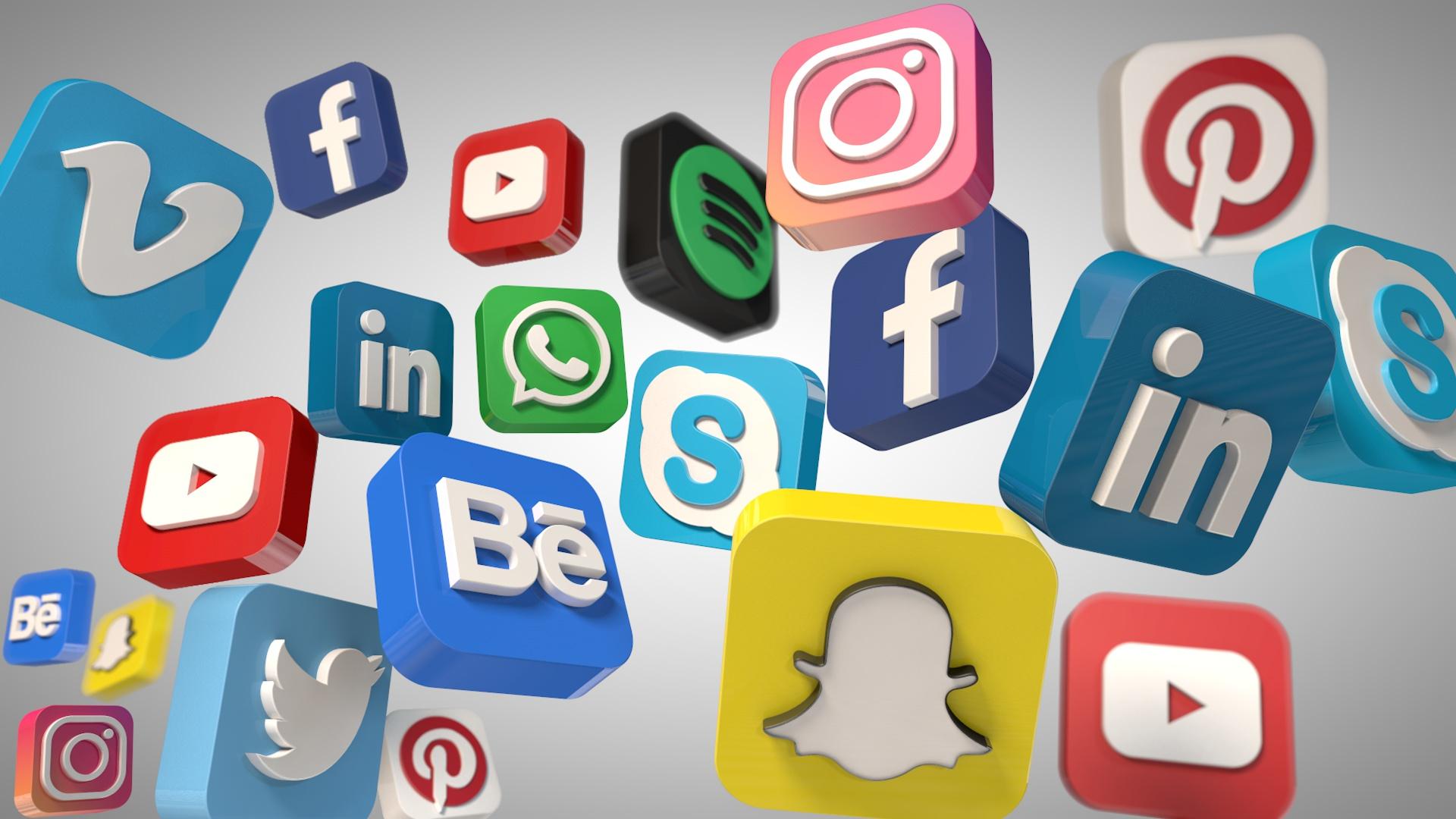 Social Media Icons by mysticat | 3DOcean