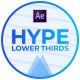 HYPE Lower Thirds - VideoHive Item for Sale