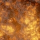 Highly Realistic Fire Explosion with Smoke Top View - VideoHive Item for Sale