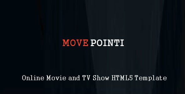 Moveponti - Online Movie and TV Show HTML5 Template