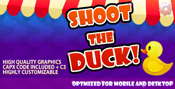 Shoot The Duck - (C2 & C3 + HTML5) Game!            Nulled