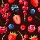 Vector Seamless Pattern of Delicious Ripe Berries - GraphicRiver Item for Sale