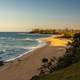 Sunset view of Shelly Beach at Caloundra, Sunshine Coast - PhotoDune Item for Sale
