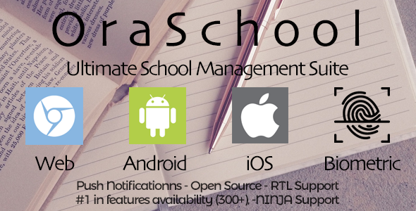 Ora School Suite - Ultimate school management system - CodeCanyon Item for Sale