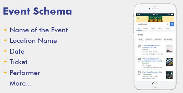 Event Schema For WordPress            Nulled