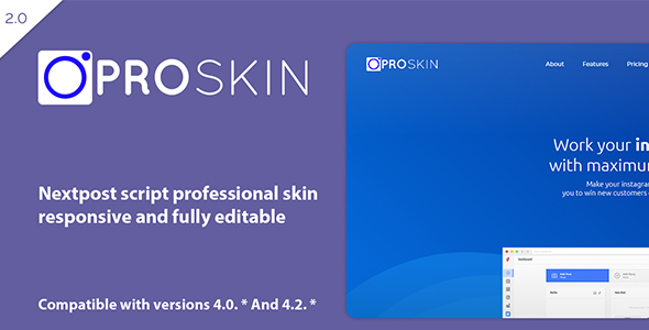 ProSkin - Nextpost Skin - CodeCanyon Item for Sale