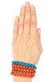 Hand of woman with bracelets, white background - PhotoDune Item for Sale