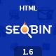 SeoBin | SEO, Social Media and Marketing Agency HTML Template - ThemeForest Item for Sale