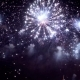 Colorful Fireworks Exploding in the Night Sky. Celebrations and Events in Bright Colors. - VideoHive Item for Sale