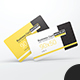 Business Card With Rounded Corners Mockups