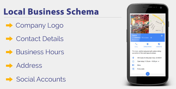 Local Business Schema