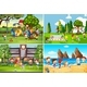 A Set Of Children Playing In Different Location - GraphicRiver Item for Sale
