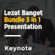 Lezat Banget Bundle 3 In 1 Keynote - GraphicRiver Item for Sale