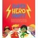 Joyous Multiracial Kids in Superhero Outfit