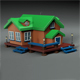 Cartoon house v1 - 3DOcean Item for Sale