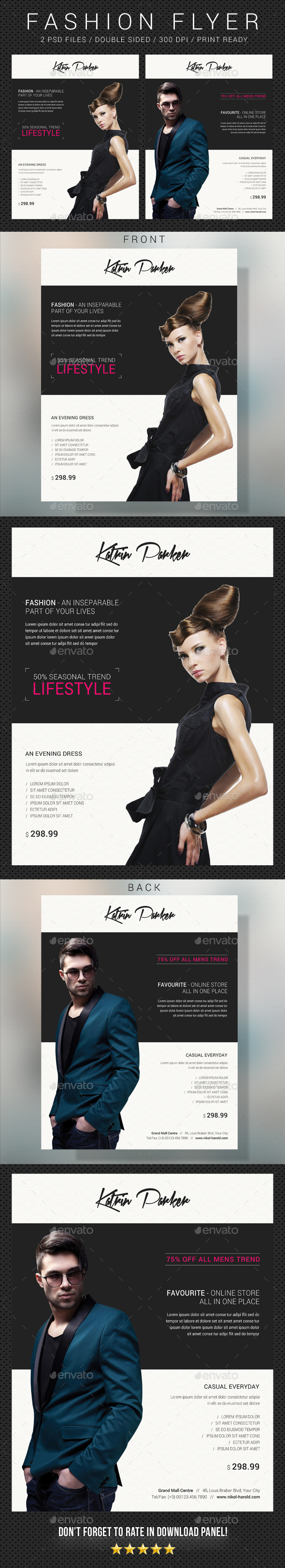 Fashion Flyer 15 - Commerce Flyers