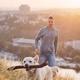 Morning walk with dog - PhotoDune Item for Sale