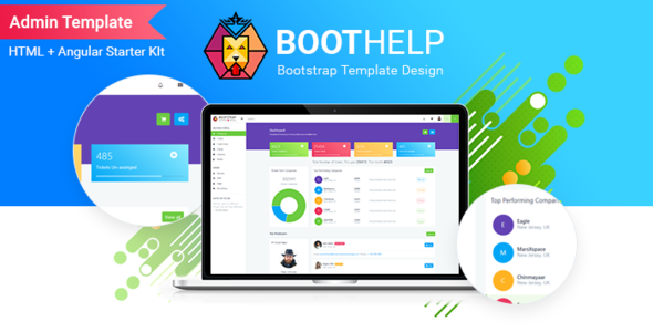 BootHelp | Bootstrap Admin Dashboard HTML  PSD  Angular Starter kit - Admin Templates Site Templates