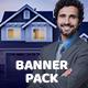 Real Estate Banner Pack - GraphicRiver Item for Sale