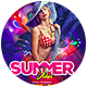 Summer VIbe Flyer Template-Graphicriver中文最全的素材分享平台