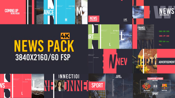 News Pack V2 - Project for After Effects (Videohive) - Free download