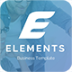 Elements Business Pitch Deck Powerpoint Template