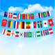 Flags on Rope Vector