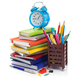 office and school supplies at white background - PhotoDune Item for Sale