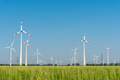 Wind generators in the fields - PhotoDune Item for Sale