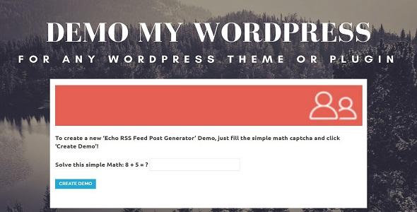 Demo My WordPress            Nulled