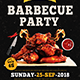 Weekend / Holiday BBQ Party Flyer - GraphicRiver Item for Sale