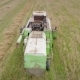 Aerial Shot: An Old Chap Combine Harvester Collecting Ripe Wheat - VideoHive Item for Sale