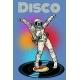 Disco Woman Astronaut Dancing