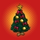 Christmas Tree New Year Holidays - GraphicRiver Item for Sale