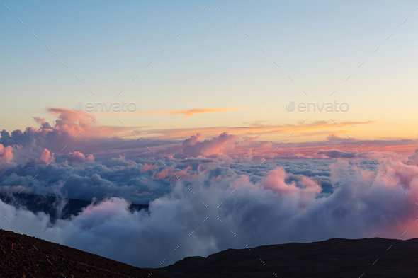 Above clouds - Stock Photo - Images