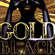 Black Gold Party Flyer-Graphicriver中文最全的素材分享平台