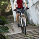 Riding bike going down the stairs - PhotoDune Item for Sale