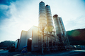 Exterior view of a cement factory - PhotoDune Item for Sale