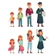 Different Ages of Student - GraphicRiver Item for Sale