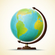 Realistic Globe - GraphicRiver Item for Sale