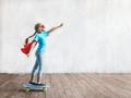 Flying little hero in the studio - PhotoDune Item for Sale