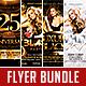 Club Flyer Bundle Vol.9 - GraphicRiver Item for Sale